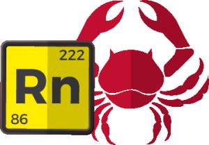 Cáncer y radón