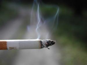 Radón y tabaco