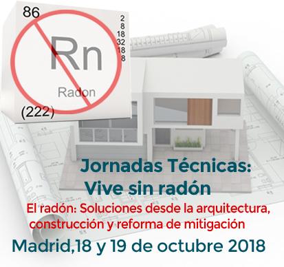 Logo Jornadas Técnicas Radón