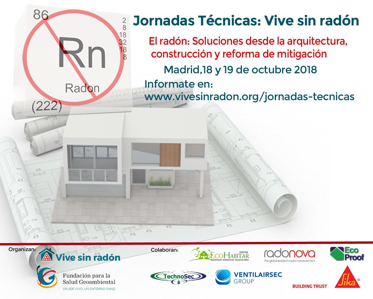 Jornadas técnicas radón